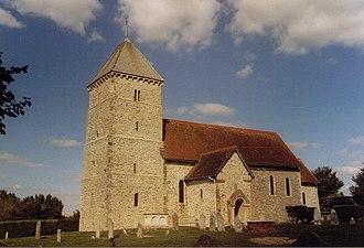 Bishopstone, East Sussex - Image: St Andrew, Bishopstone geograph.org.uk 1595475