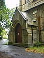 St Bartholomew's Parish Church, Marsden , Porch - geograph.org.uk - 1457337.jpg