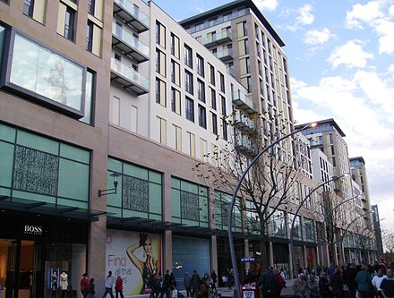 St. David's is the largest shopping centre in Wales. St David's Centre newly opened.jpg