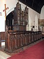 St Ethelbert, East Wretham, Norfolk - Organ - geograph.org.uk - 1701467.jpg