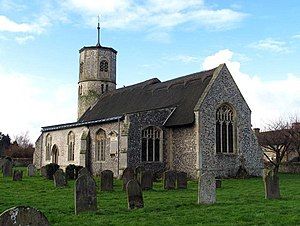 Beachamwell - Image: St Mary, Beachamwell, Norfolk geograph.org.uk 339065