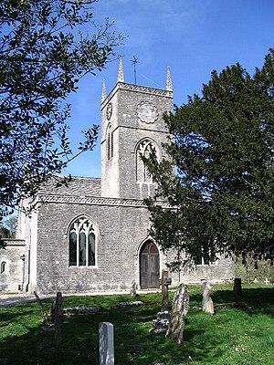 St Nicholas' Church, Moreton - Image: St Nicholas Church, Moreton geograph.org.uk 406423