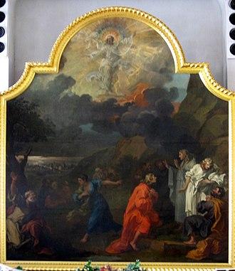 St Nicholas, Bristol - Image: St Nicholas Hogarth