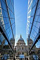St Paul's Cathedral reflections at One New Change 02.jpg