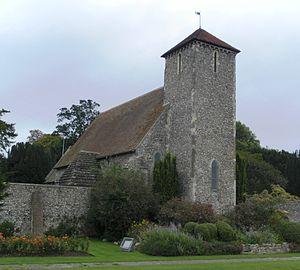St Peter's Church, Preston Village, Brighton - Image: St Peter's Church, Preston Village, Brighton (NHLE Code 1380743)