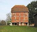 Staddle stone barn at Fairthorne Grange Farm, Curdridge - geograph.org.uk - 739342.jpg