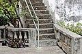 Stairs and patio, Rum distillery, Grenada.jpg