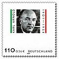 Stamp Germany 2001 MiNr2173 Karl Arnold.jpg