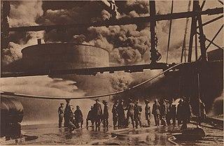 1919 Standard Oil Company Fire