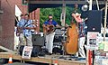 Starline Rhythm Boys alley downtown Montpelier VT July 2016.jpg