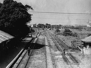 Pinkenba railway station - The station c.1935