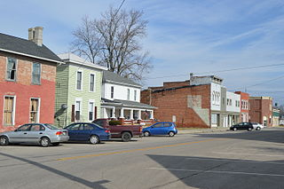 Milford Center, Ohio Village in Ohio, United States
