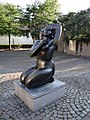 Statue au petit béguinage (Klein Begijnhof) de Malines.jpg