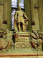 Statue of Duke of Wellington in the Great Hall of the Guildhall - geograph.org.uk - 1229353.jpg