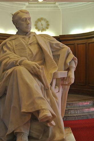 Cardiff University - John Viriamu Jones was the founding Principal of the College.