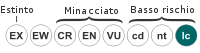 Status iucn2.3 LC it.svg