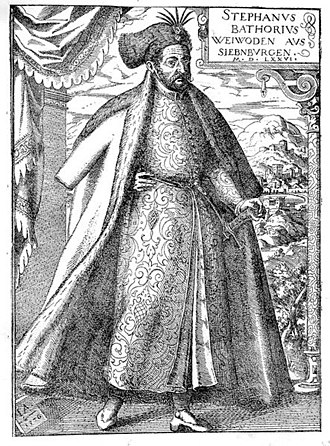 Voivode of Transylvania - Stephen Báthory