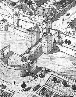 Karlstor gate tower in Munich