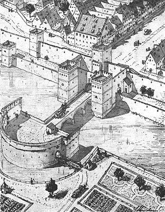 Karlstor - Medieval Neuhauser Tor, complete with moats, barbican and bridges