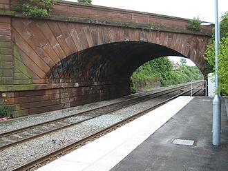 Rainhill - Skew Bridge as seen today.