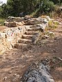 Steps along the Roman road.jpg