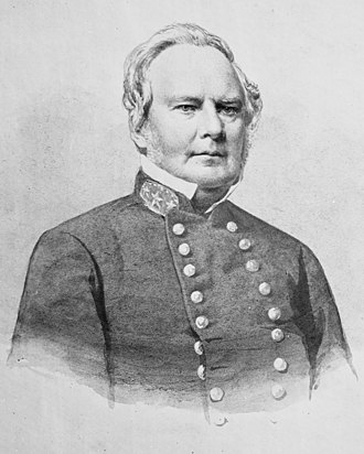 Sterling Price - Price in uniform, ca. 1862