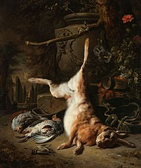 Still life with a Hare and Other Game
