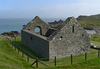 Whithorn Priory - Image: Stninianschapel