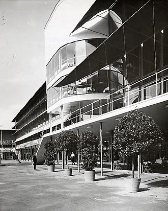 Stockholm Exhibition (1930) - view of the Paradise Restaurant