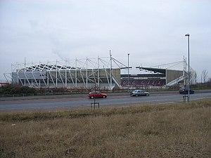 Stoke City's Britannia Stadium.