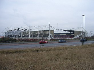 History of Stoke City F.C. - The Britannia Stadium