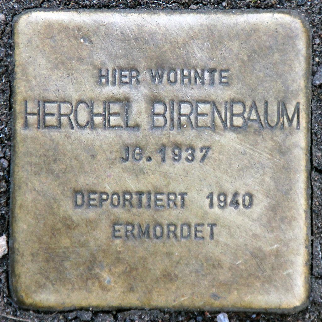 Stolperstein-Herchel Birenbaum-Koeln-cc-by-denis-apel.jpg
