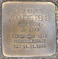 Stolperstein Brandstwiete 4 (Auguste Peine) in Hamburg-Altstadt.JPG