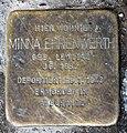 Stolperstein Elberfelder Str 16 (Moabi) Minna Ehrenwerth.jpg