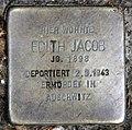 Stolperstein Emser Str 39d (Wilmd) Edith Jacob.jpg