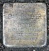 Stolperstein Kirchstr 85 (Marfe) Emma Schiller.jpg