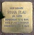 Stolperstein Marienbader Str 12 (Schma) Minna Blau.jpg