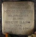 Stolperstein Westfälische Str 59 (Halsee) Hedwig Goldstein.jpg