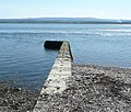Stone jetty by Chanonry Point lighthouse - geograph.org.uk - 1279341.jpg