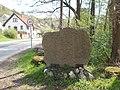 Stone panel, Mátyás király street, 2018 Visegrád.jpg
