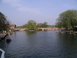 De Avon in Stratford-upon-Avon