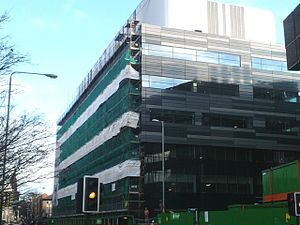 Strathclyde Institute of Pharmacy and Biomedical Sciences - Strathclyde Institute of Pharmacy and Biomedical Sciences Building (under construction).