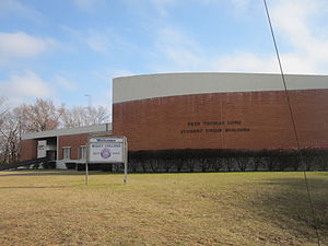 Fred T. Long - The Fred Thomas Long Student Union building at Wiley College