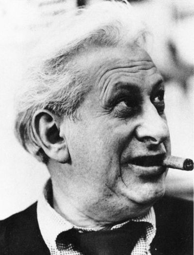 Studs Terkel, American author, historian and broadcaster