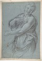 Study for an Angel (recto); Study of a Cushion (verso) MET DP808287.jpg