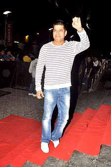 Sudesh Berry at the special screening of 'Bol Bachchan' 17.jpg