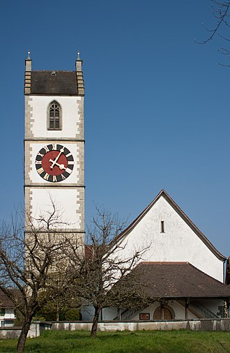 Sumiswald - Sumiswald village church, built in 1510-12