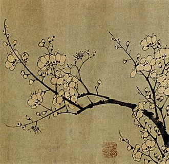 Four Gentlemen - Image: Sun Long and Chen Lu Plum Blossoms 1