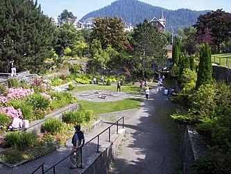 Sunken Gardens in Prince Rupert, British Columbia.jpg