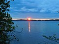 Sunset from the Thousand Islands region in the St. Lawrence River DSCN0377 02.jpg